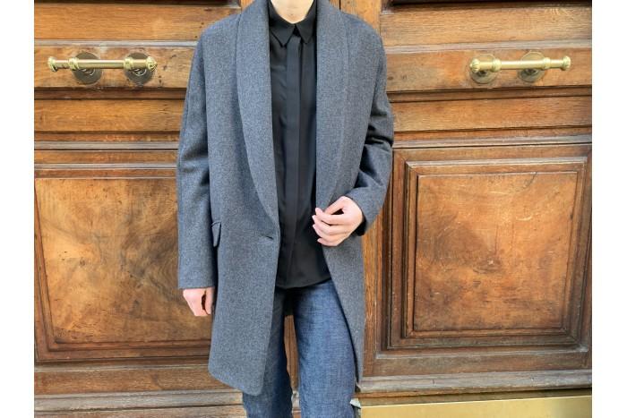 ART DU BASIC Manteau gris