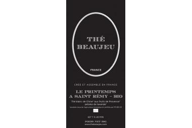 Thé noir parfumé Le printemps à St Rémy