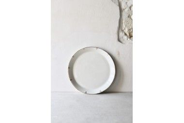 EPURE Assiette moyenne Simple et Or